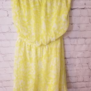 Strapless dress by Express